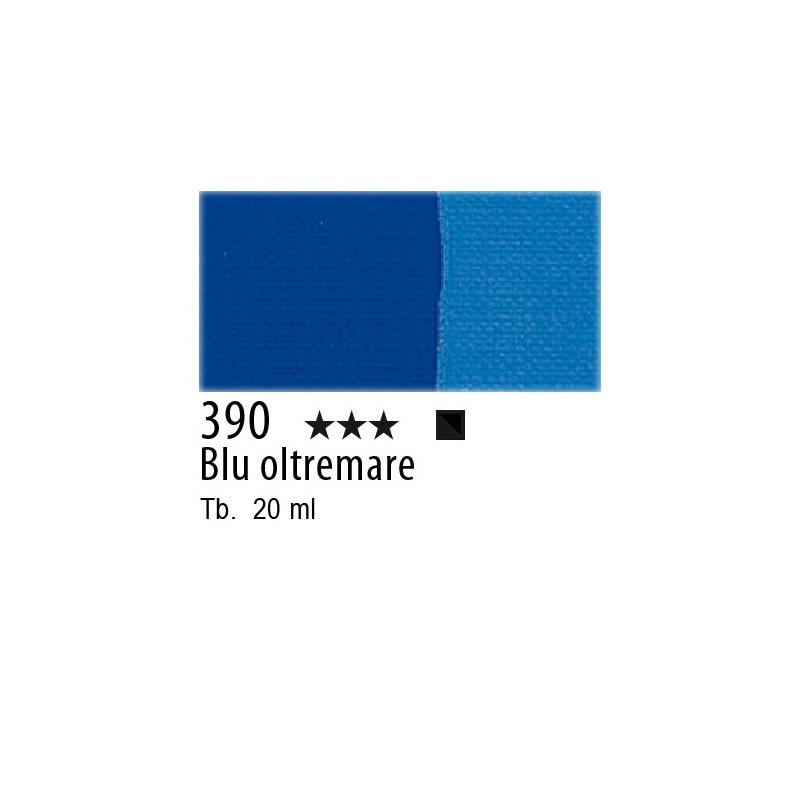 390 - Maimeri Tempera Fine Blu oltremare