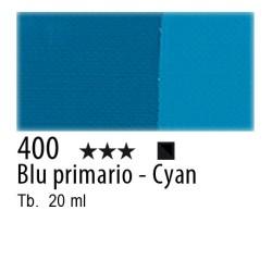 400 - Maimeri Tempera Fine Blu primario - Cyan