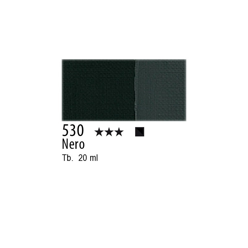 530 - Maimeri Tempera Fine Nero