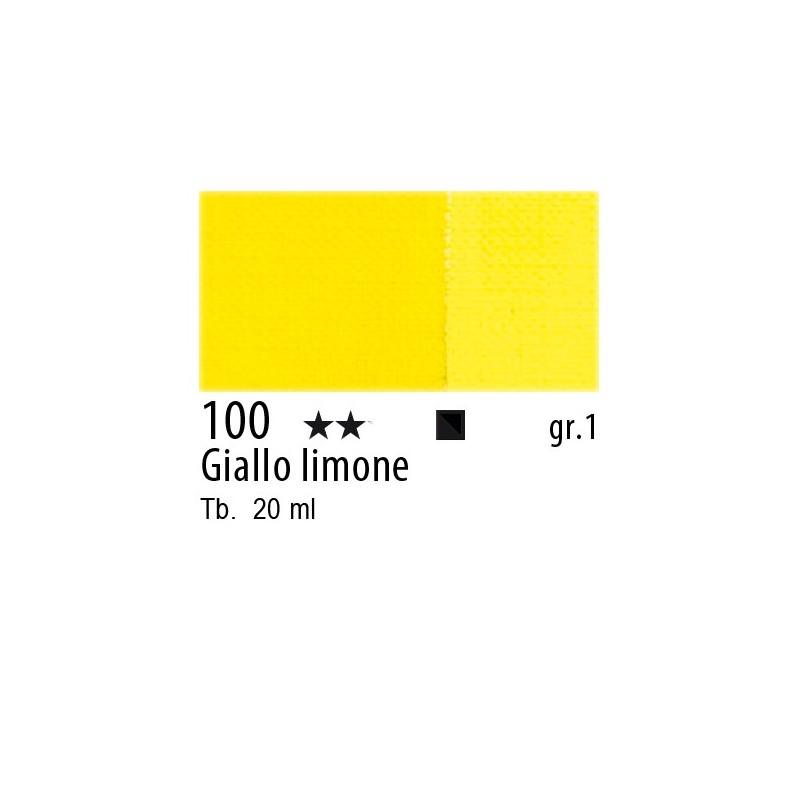 100 - Maimeri Gouache Giallo limone