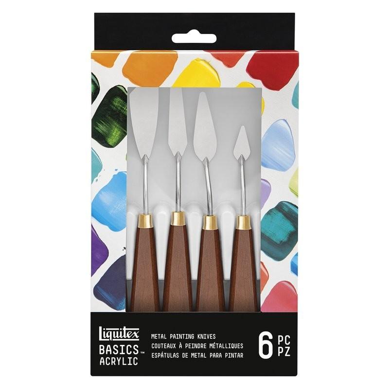 Set 6 spatole per dipingere Liquitex