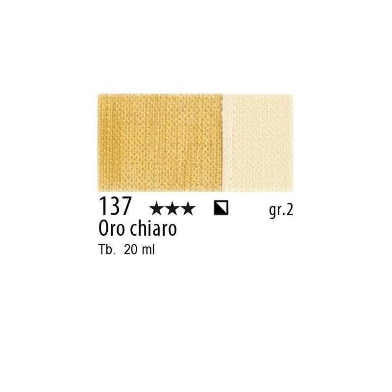 137 - Maimeri Gouache Oro chiaro