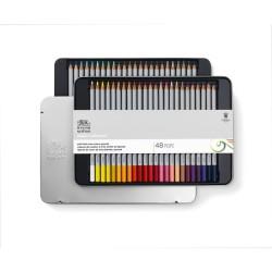 Winsor & Newton scatola metallo 48 matite colorate