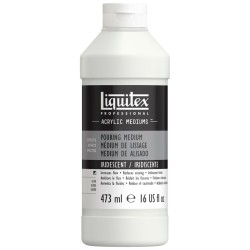 Liquitex Medium Pouring Iridescente fluido per colate