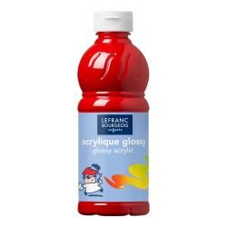 Lefranc Glossy acrilico lucido Rosso vivo
