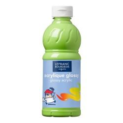 Lefranc Glossy acrilico lucido Verde anice