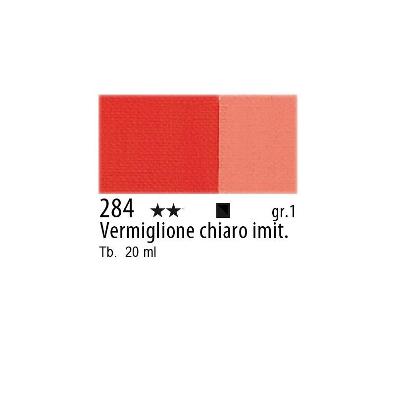 284 - Maimeri Gouache Vermiglione chiaro imit.