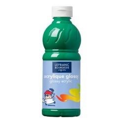 Lefranc Glossy acrilico lucido Verde brillante