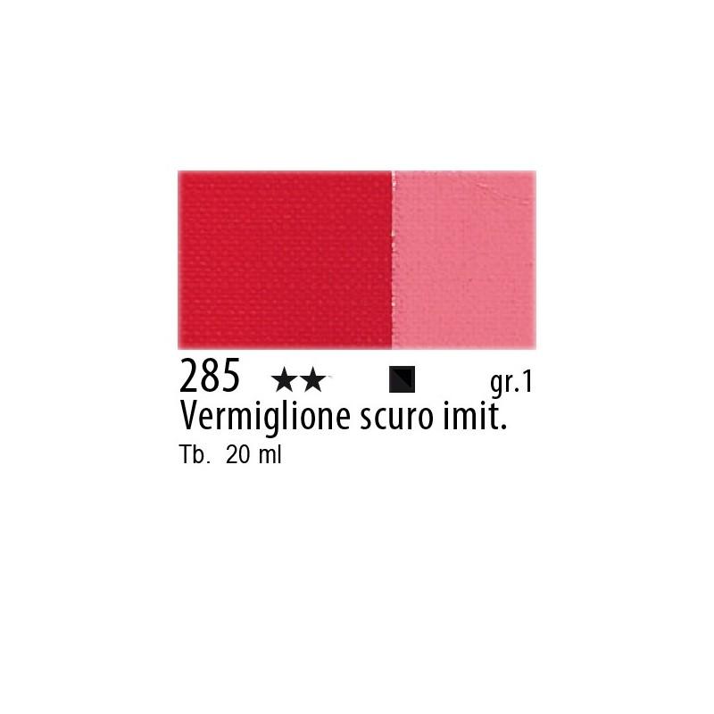 285 - Maimeri Gouache Vermiglione scuro imit.