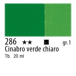 286 - Maimeri Gouache Cinabro verde chiaro