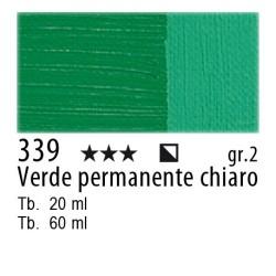 339 - Maimeri Olio Classico Verde permanente chiaro
