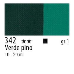 342 - Maimeri Gouache Verde Pino