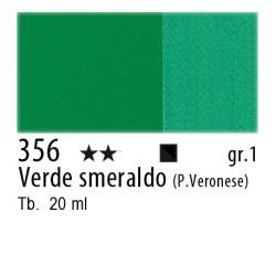 356 - Maimeri Gouache Verde smeraldo (P. Veronese)