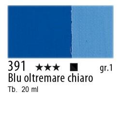 391 - Maimeri Gouache Blu oltremare chiaro