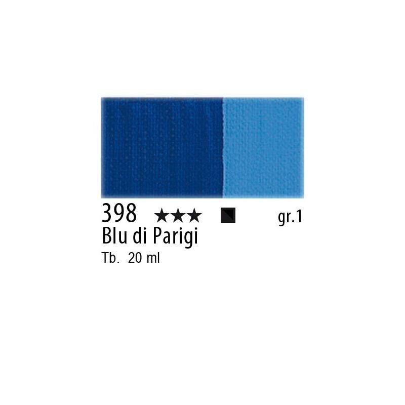 398 - Maimeri Gouache Blu di Parigi
