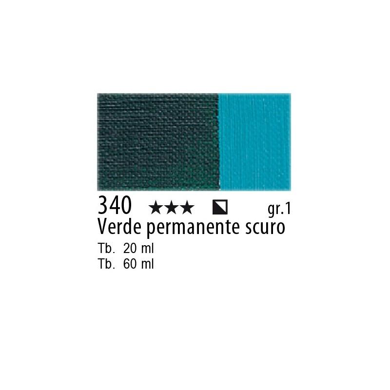 340 - Maimeri Olio Classico Verde permanente scuro