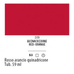 109 - Liquitex Heavy Body Rosso arancio quinacridone