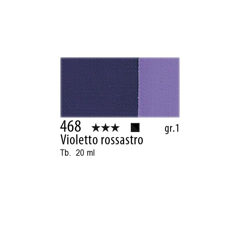 468 - Maimeri Gouache Violetto rossastro
