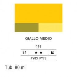 198 - Lefranc acrilico fine giallo medio