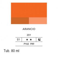 201 - Lefranc acrilico fine arancio
