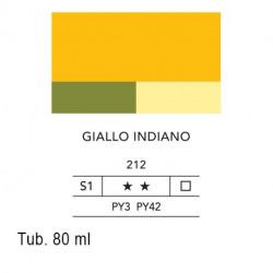 212 - Lefranc acrilico fine giallo indiano