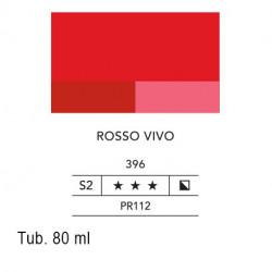 396 - Lefranc acrilico fine rosso vivo