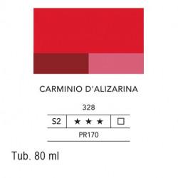 328 - Lefranc acrilico fine carminio d'alizarina