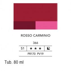 366 - Lefranc acrilico fine rosso carminio