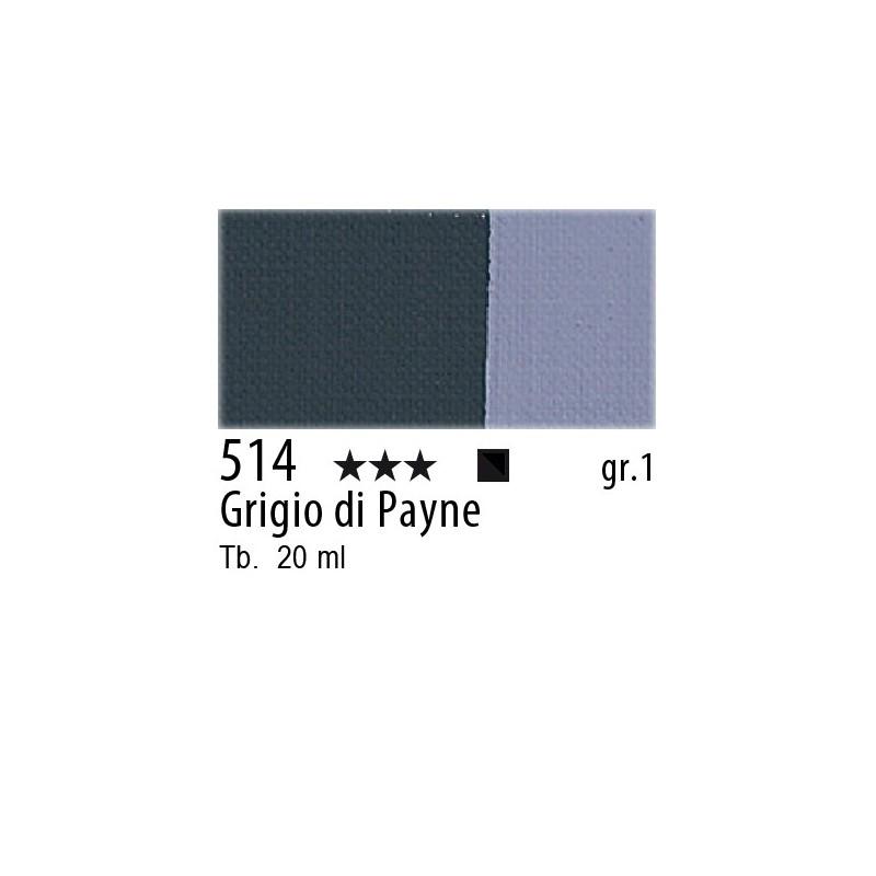 514 - Maimeri Gouache Grigio di Payne