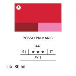 437 - Lefranc acrilico fine rosso primario