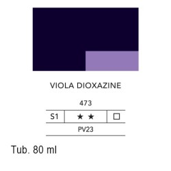 473 - Lefranc acrilico fine viola dioxazine