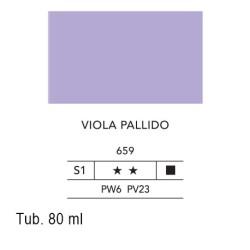 659 - Lefranc acrilico fine viola pallido