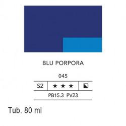 045 - Lefranc acrilico fine blu porpora