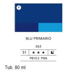 063 - Lefranc acrilico fine blu primario