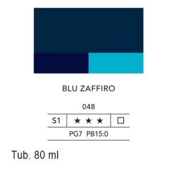 048 - Lefranc acrilico fine blu zaffiro