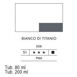 008 - Lefranc acrilico fine bianco di titanio