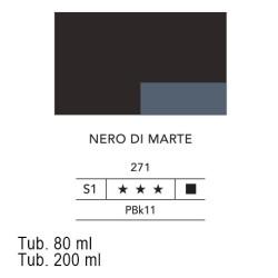 271 - Lefranc acrilico fine nero di marte