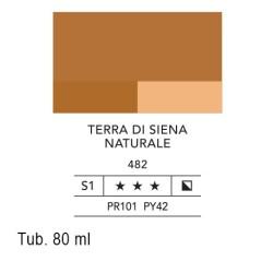 482 - Lefranc acrilico fine terra di siena naturale