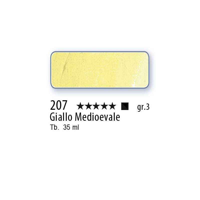 207 - Mussini giallo Medievale