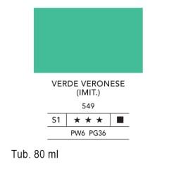 549 - Lefranc acrilico fine verde veronese (imit.)