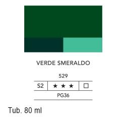 529 - Lefranc acrilico fine verde smeraldo