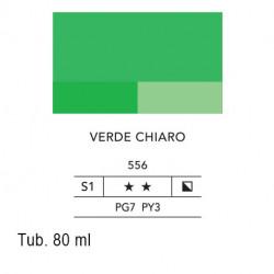 556 - Lefranc acrilico fine verde chiaro
