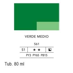 561 - Lefranc acrilico fine verde medio