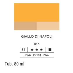 816 - Lefranc acrilico fine giallo di napoli