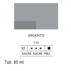 710 - Lefranc acrilico fine argento