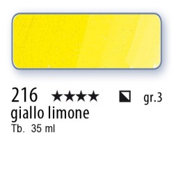 216 - Mussini giallo limone