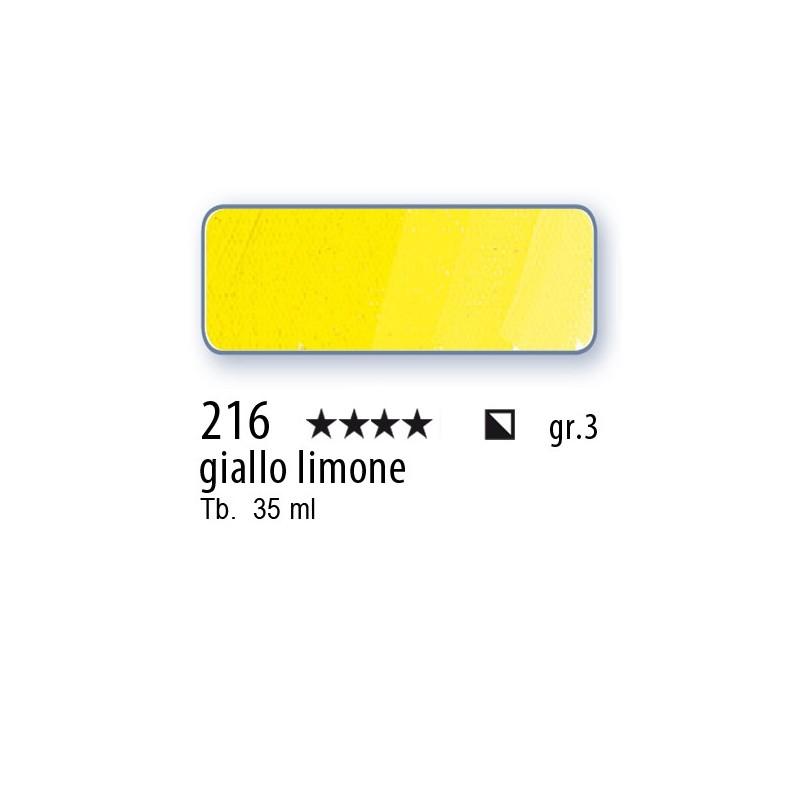 216 - Mussini giallo limone