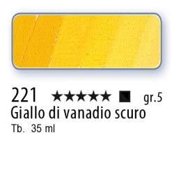 221 - Mussini giallo di vanadio scuro