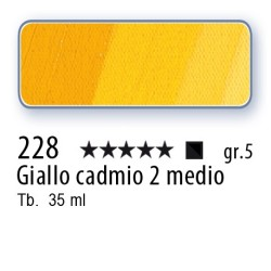 228 - Mussini giallo di cadmio 2 medio