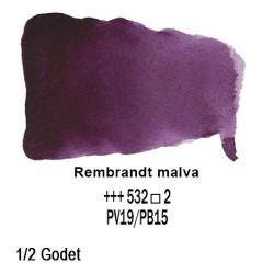 532 - Talens Rembrandt acquerello malva